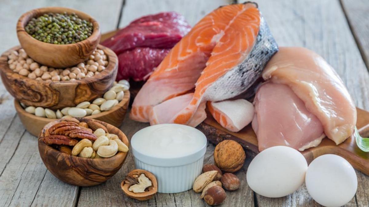 ingesta de proteinas en la mujer